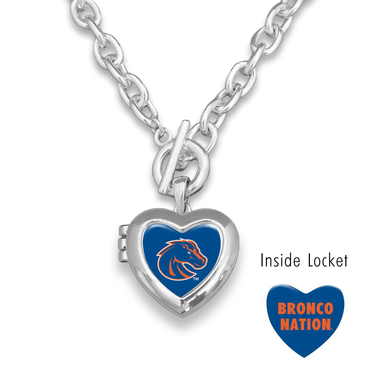 Boise State Broncos Necklace- Bella Locket
