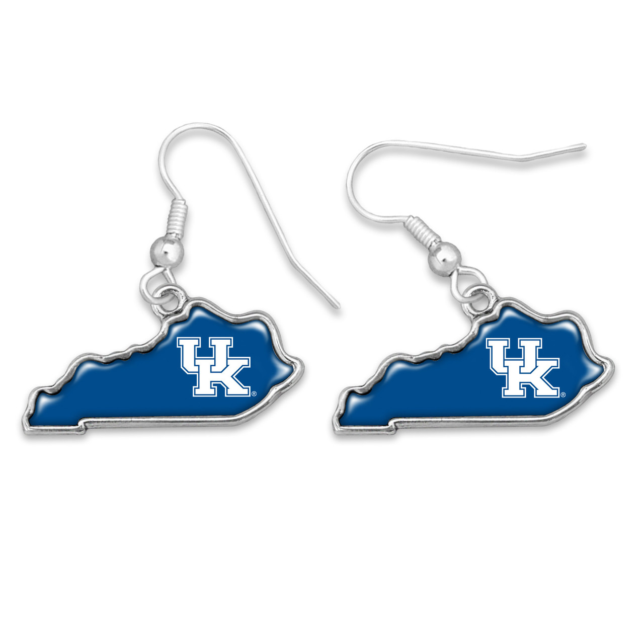 Kentucky Wildcats Earrings- State of Mine