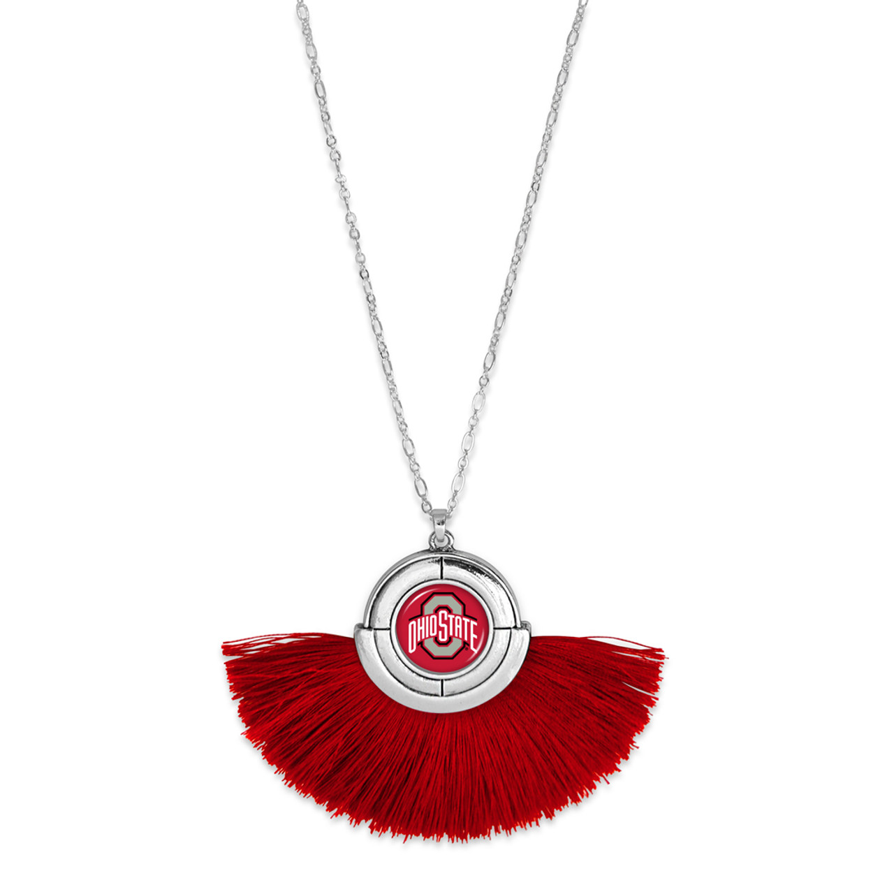 Ohio State Buckeyes Necklace- No Strings Attached