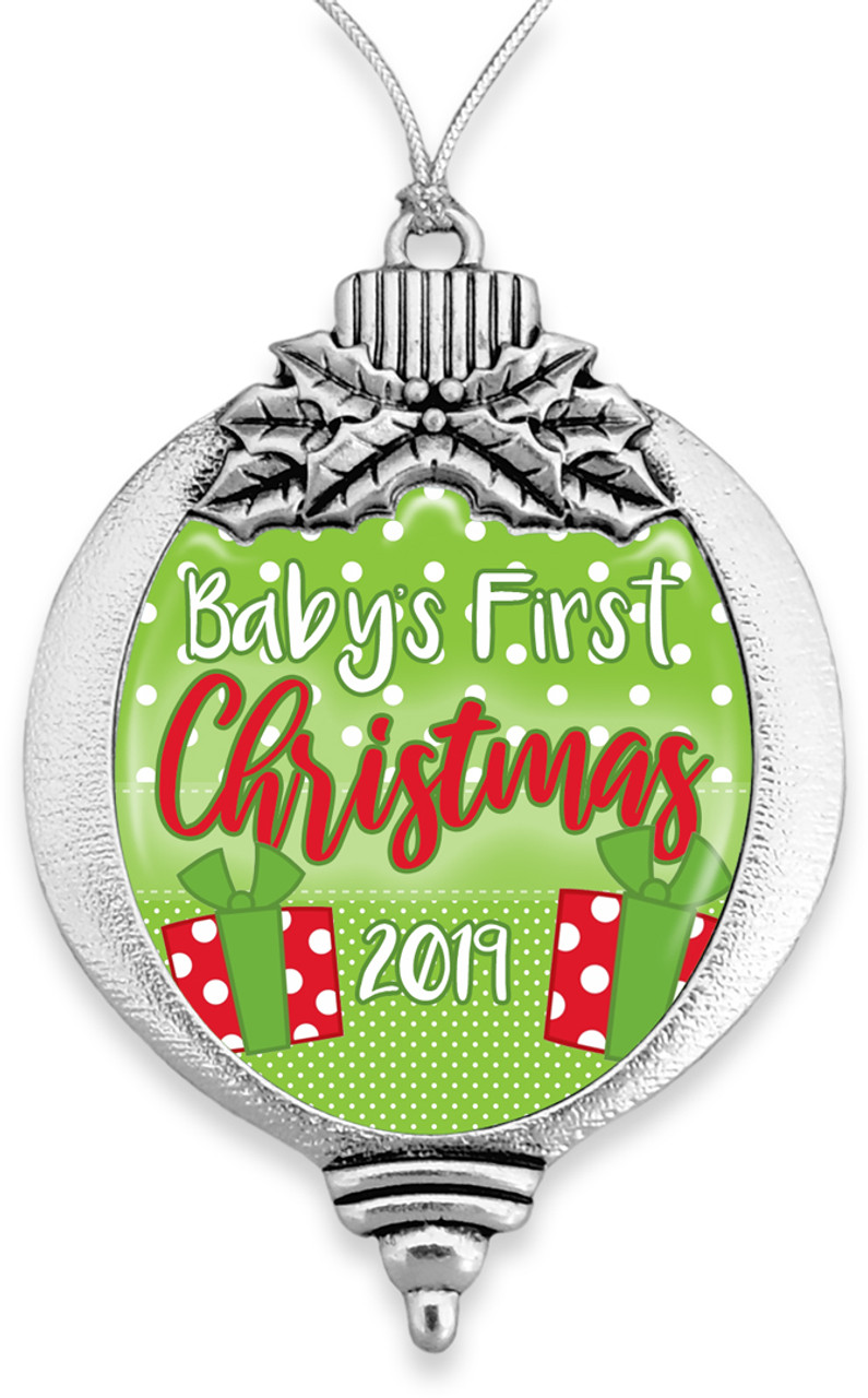 Ornaments - Bulb- Baby's First Christmas