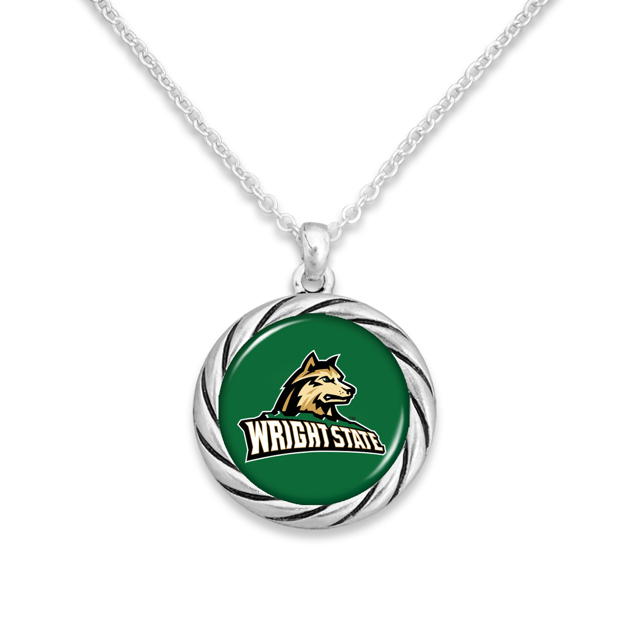 Wright State Raiders Necklace- Twisted Rope