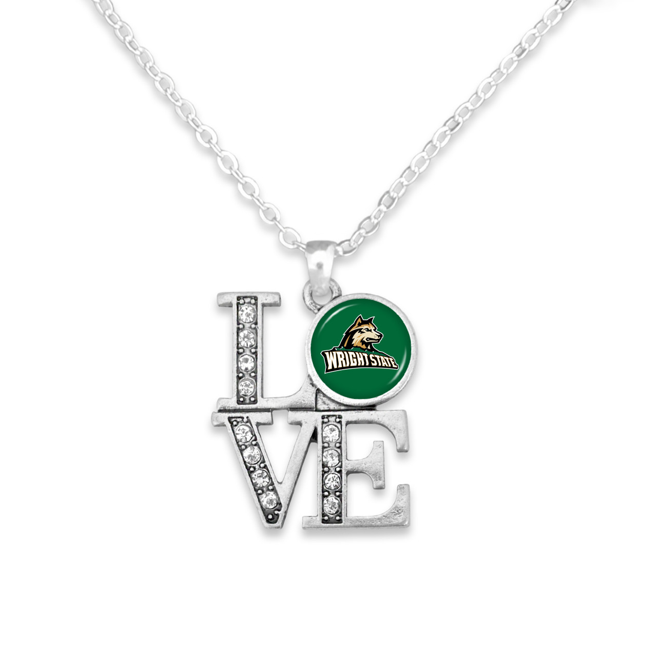 Wright State Raiders Necklace- LOVE