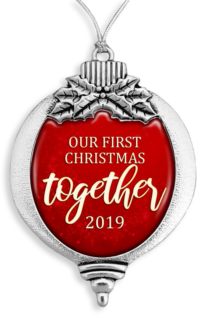Family Ornaments / First Christmas Together 2019- SKU 61333