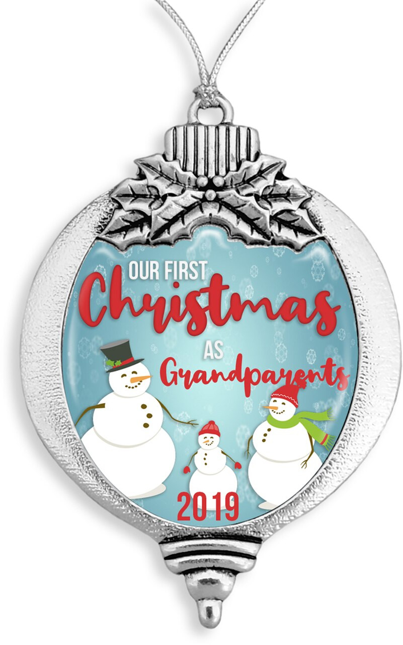 Family Ornaments / Our First Christmas as Grandparents 2019- SKU 61332