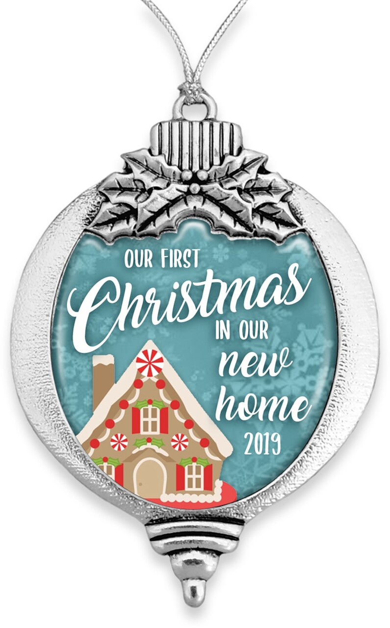 Family Ornaments / Our Christmas in our New Home 2019- SKU 61332