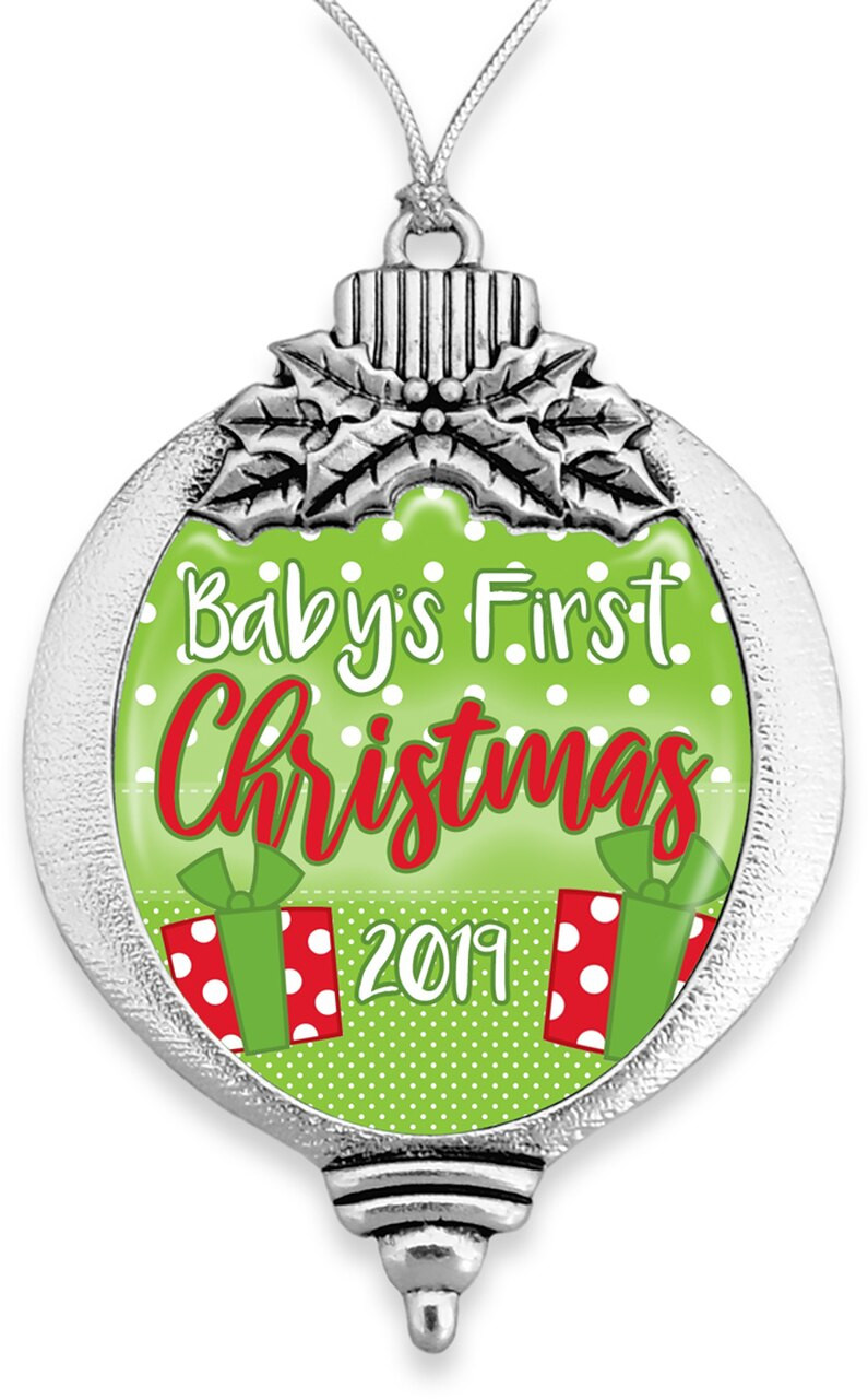 Family Ornaments / Baby's First Christmas 2019- SKU 61329