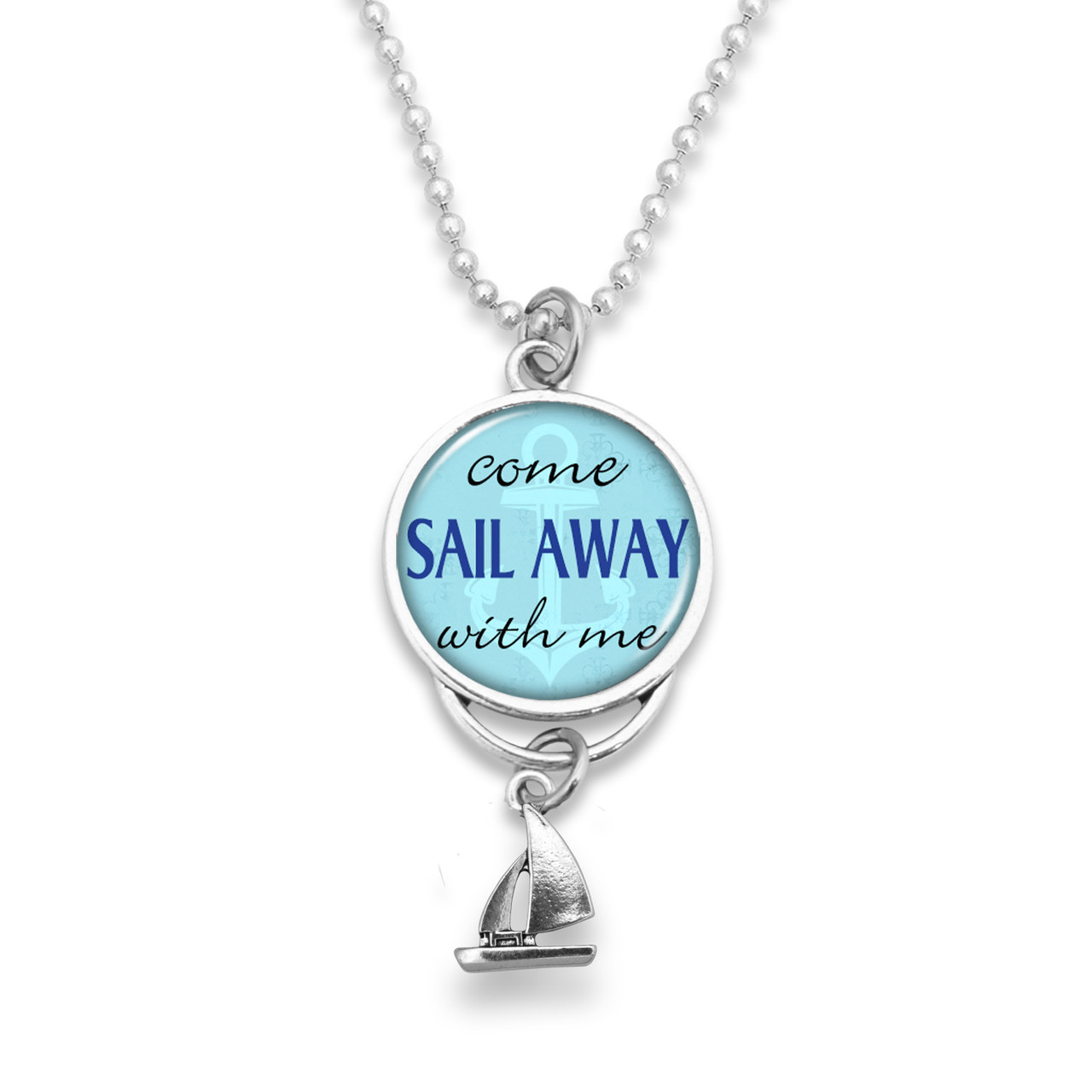 Come From Away Charm Necklace