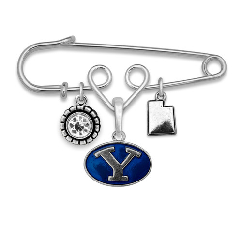 BYU Cougars Home Sweet School Brooch Pin
