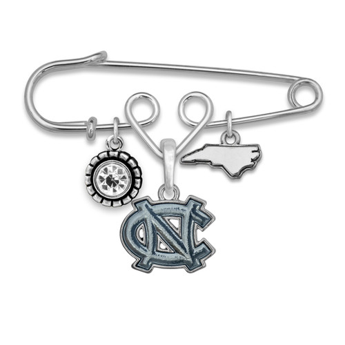 North Carolina Tar Heels Home Sweet School Brooch Pin