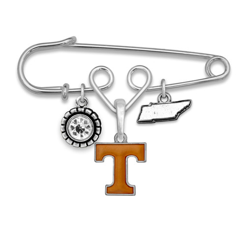 Tennessee Volunteers Home Sweet School Brooch Pin