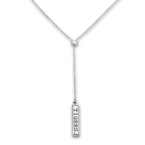 Clemson Tigers Lariat Necklace