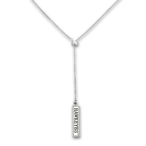 Iowa Hawkeyes Lariat Necklace