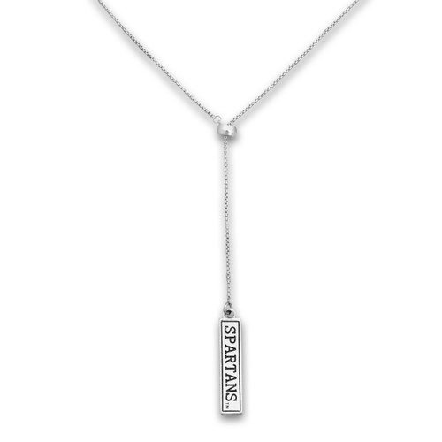 Michigan State Spartans Lariat Necklace