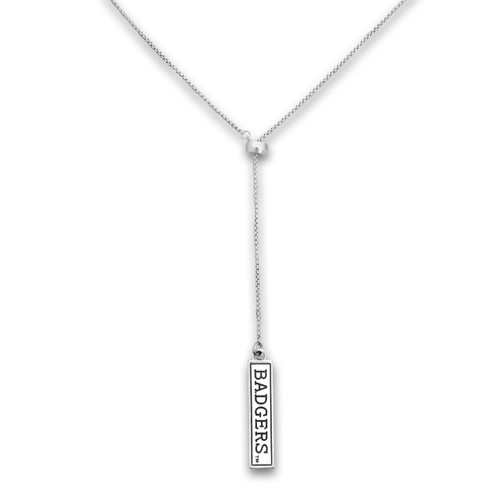 Wisconsin Badgers Lariat Necklace
