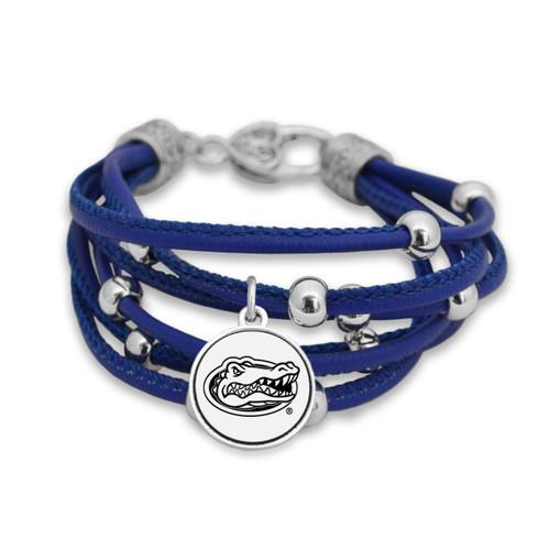 Florida Gators Lindy Leather Bracelet