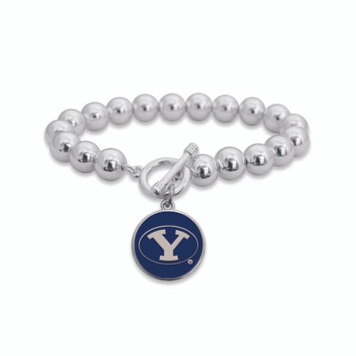 BYU Cougars Society Toggle Bracelet