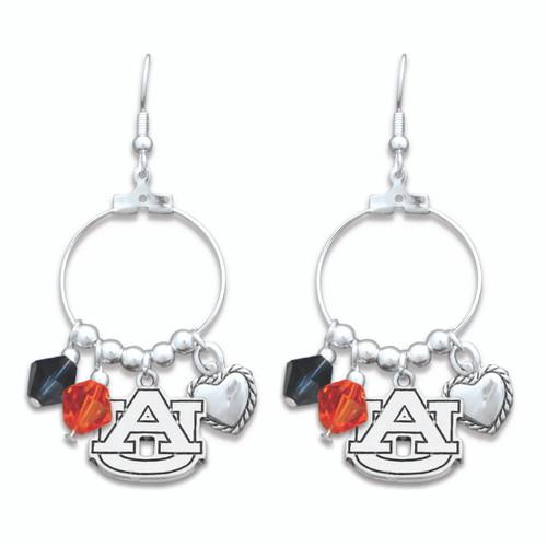 Auburn Tigers Haute Wire Earrings