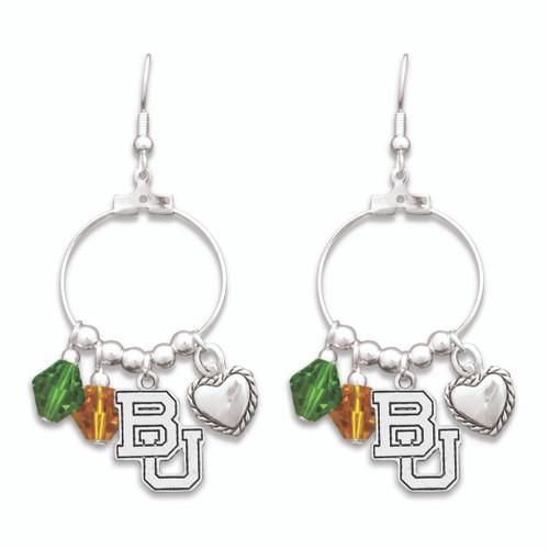 Baylor Bears Haute Wire Earrings