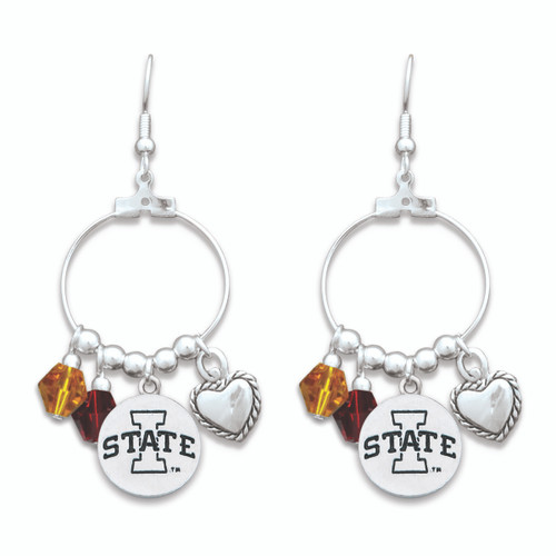 Iowa State Cyclones Haute Wire Earrings