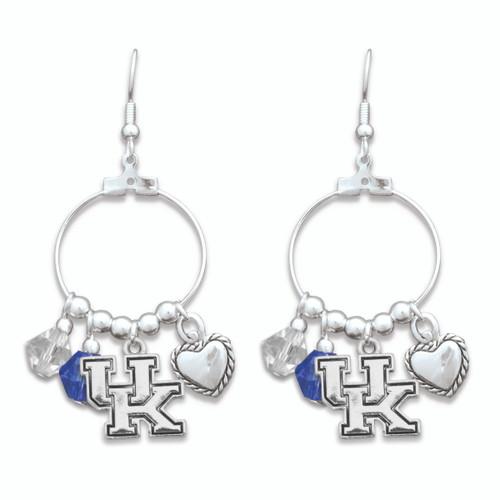 Kentucky Wildcats Haute Wire Earrings