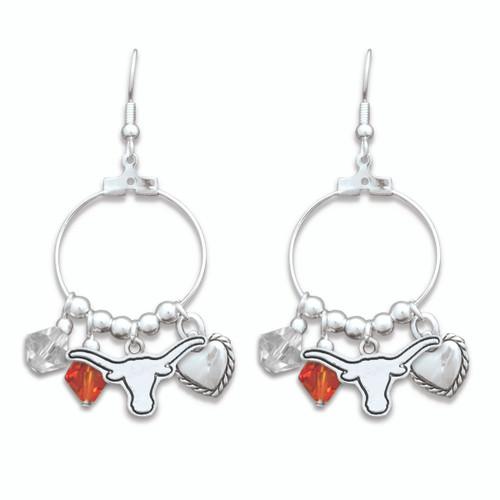 Texas Longhorns Haute Wire Earrings