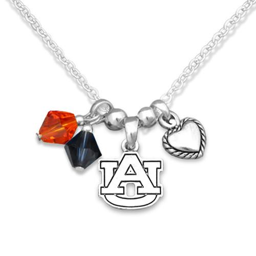 Auburn Tigers Haute Wire Necklace