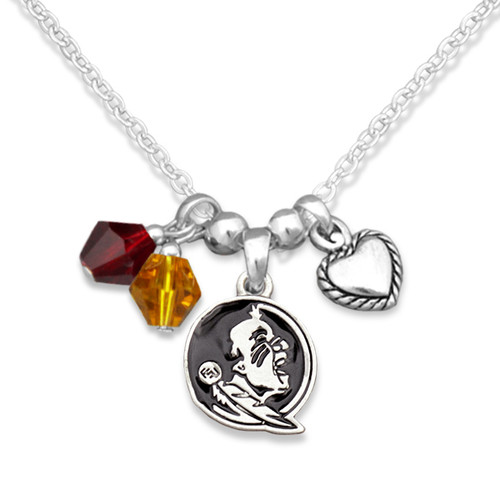 Florida State Seminoles Haute Wire Necklace
