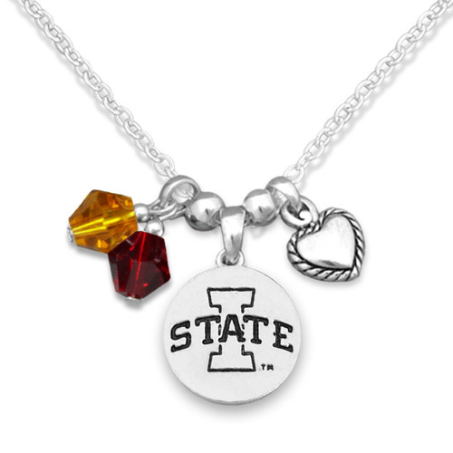 Iowa State Cyclones Haute Wire Necklace