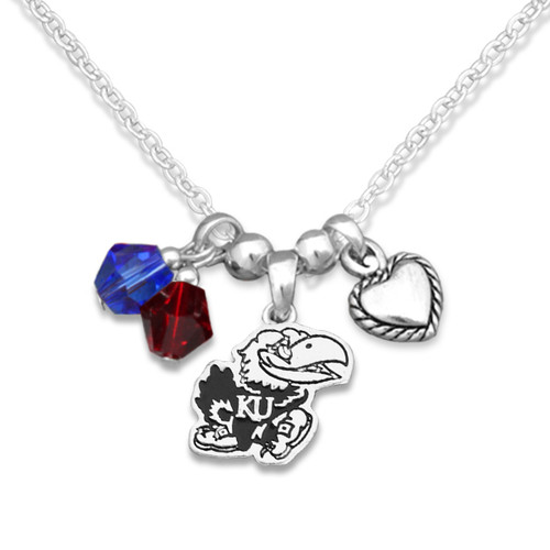 Kansas Jayhawks Haute Wire Necklace