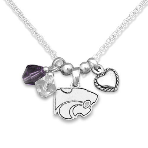 Kansas State Wildcats Haute Wire Necklace