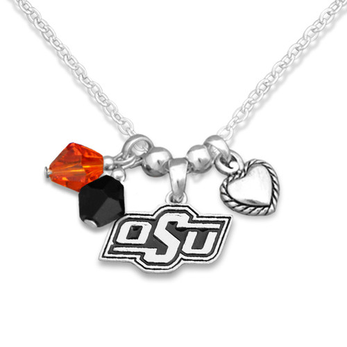 Oklahoma State Cowboys Haute Wire Necklace
