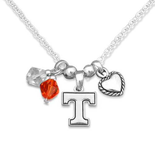 Tennessee Volunteers Haute Wire Necklace