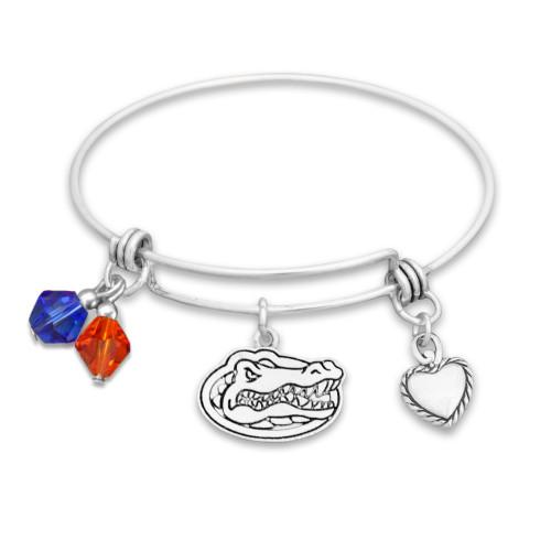 Florida Gators Haute Wire Memory Wire Bracelet