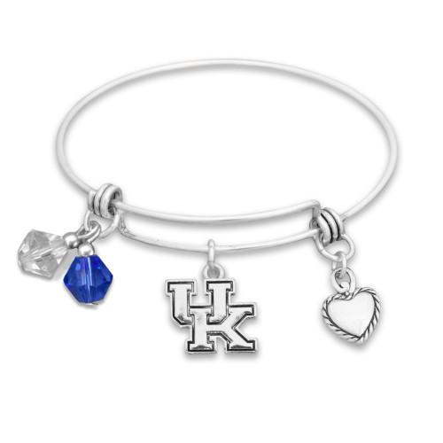Kentucky Wildcats Haute Wire Memory Wire Bracelet