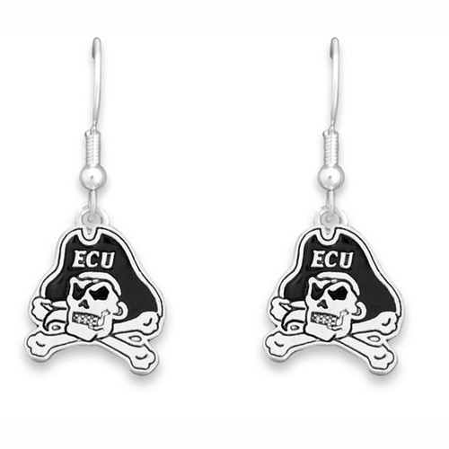 East Carolina Pirates Trifecta Earrings