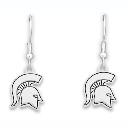 Michigan State Spartans Trifecta Earrings
