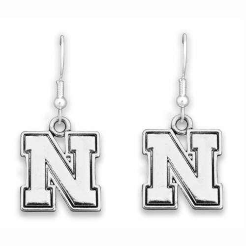 Nebraska Cornhuskers Trifecta Earrings