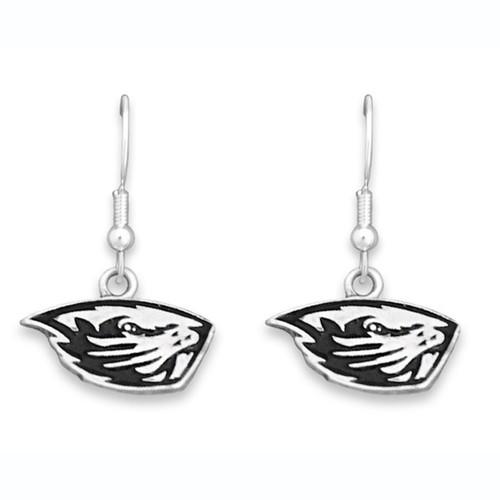 Oregon State Beavers Trifecta Earrings