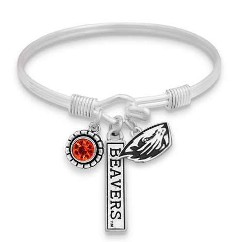Oregon State Beavers Trifecta Bangle
