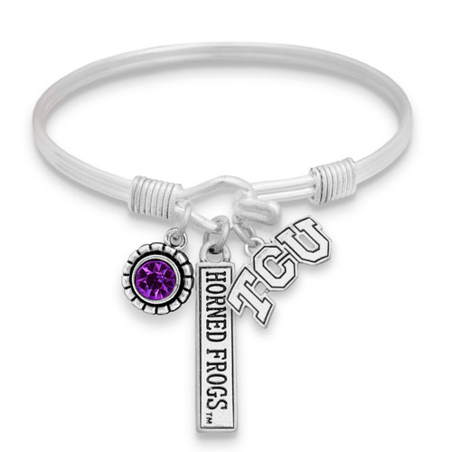 TCU Horned Frogs Trifecta Bangle