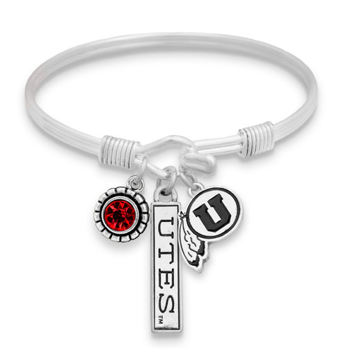 Utah Utes Trifecta Bangle