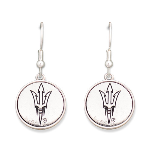 Arizona State Sun Devils Silver Linings Earrings
