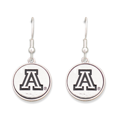 Arizona Wildcats Silver Linings Earrings
