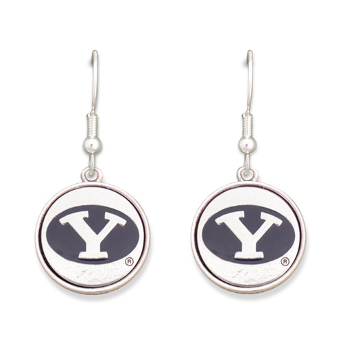 BYU Cougars Silver Linings Earrings