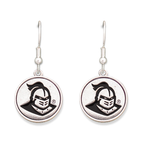 Central Florida Knights Silver Linings Earrings