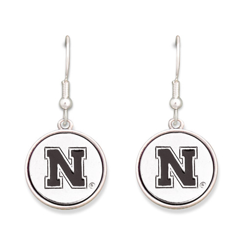 Nebraska Cornhuskers Silver Linings Earrings