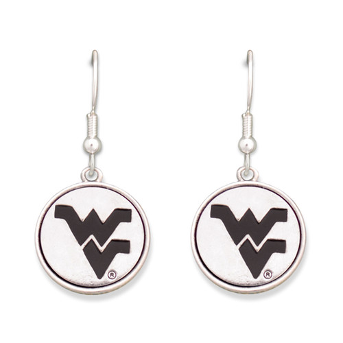 West Virginia Mountaineers Silver Linings Earrings