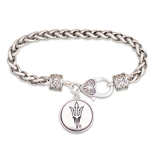 Arizona State Sun Devils Silver Linings Bracelet