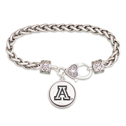 Arizona Wildcats Silver Linings Bracelet