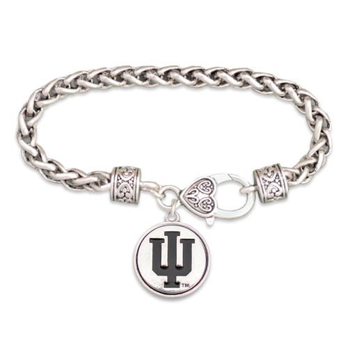 Indiana Hoosiers Silver Linings Bracelet